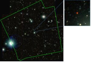 The quasar J1030+0524 and its field.