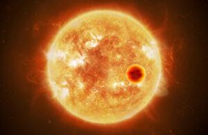 Hot exoplanet. <em>Credits: ESA/ATG medialab, CC BY-SA 3.0 IGO</em>